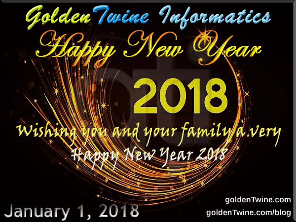 Happy and Prosperous New Year 2018
