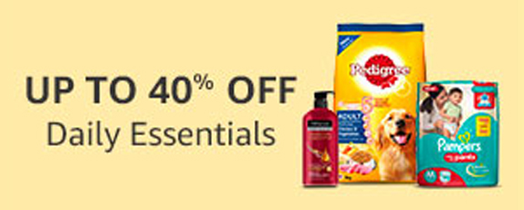 Amazon Great Indian Sale January 2018 - Daily Essentials