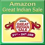 Amazon Great Indian Sale January 2018