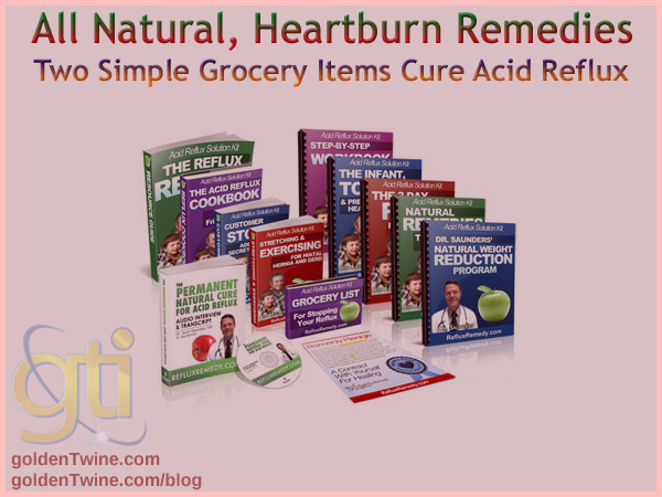 All Natural, Heartburn Remedies