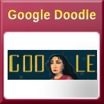 Meena Kumari Birth Anniversary Google Doodle