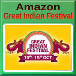 Amazon Great Indian Festival 10 to 15 October 2018