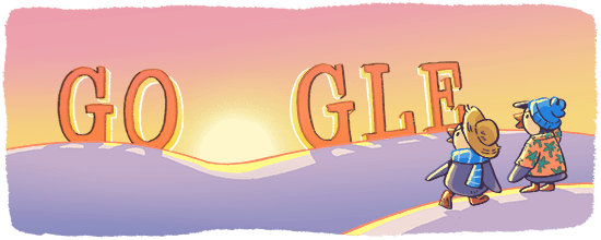 New Year's Day 2018 Google Doodle