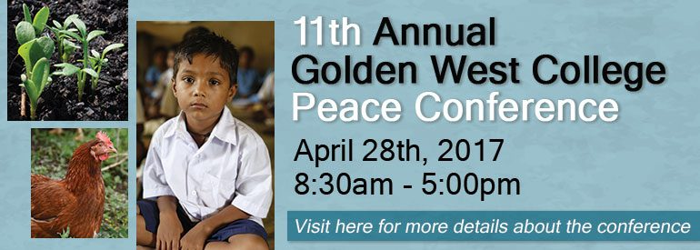 11th Annual Golden West College Peace Conference
