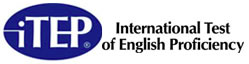 Academic International Test of English Proficiency logo