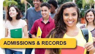 Admission and Records Quick link