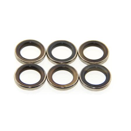 black large agate rings
