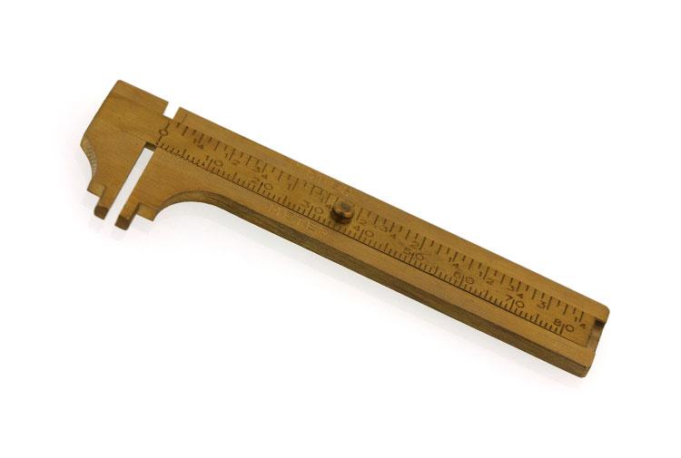 brass caliper