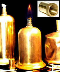 Brass Alcohol Lamps
