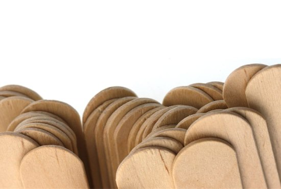 wooden mixing sticks