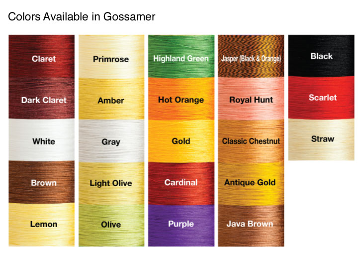 Pearsall's Gossamer Thread Colors