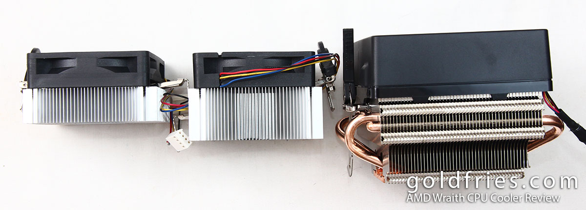 AMD Wraith CPU Cooler Review ~ goldfries