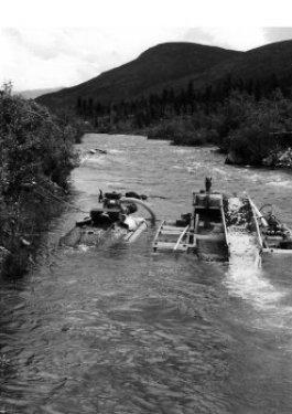 dredges on pine creek