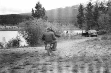 Eric & Jim going hunting
