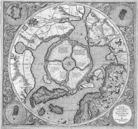 Chart of the north pole 1595