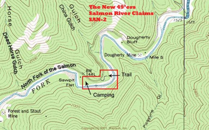 SAN-2 Topographical Map