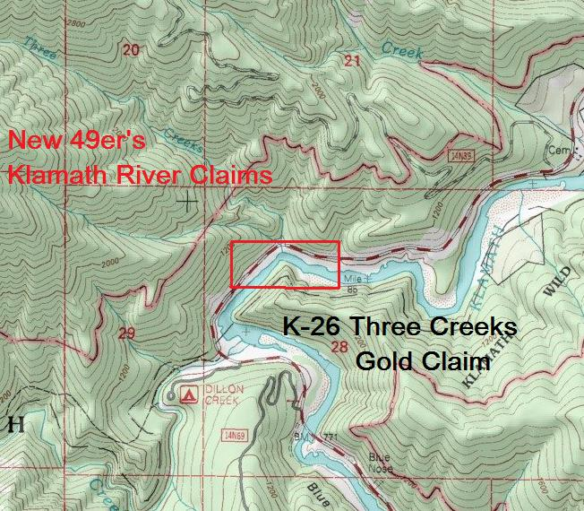 K-26 Topographical Map