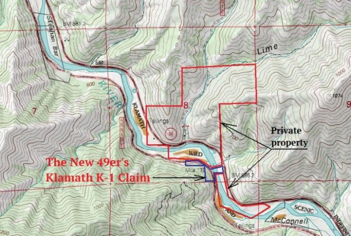 K-1 Topographical Map