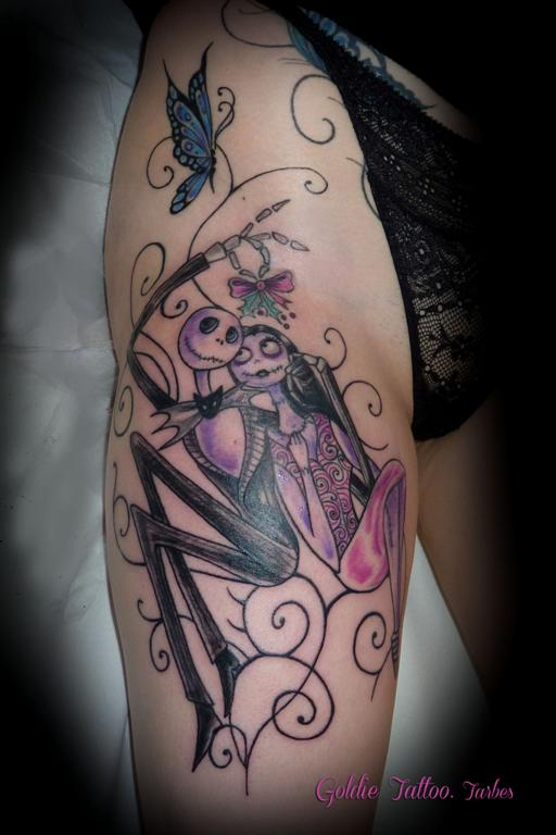 Personnages  Goldie tattoo
