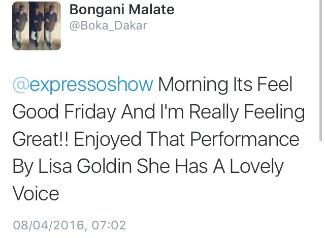 #ThisIsMyFire Bongani