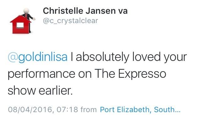 #ThisIsMyFire Christelle
