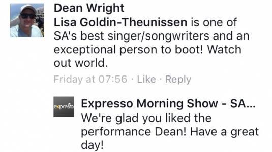 #ThisIsMyFire Dean #ExpressoShow