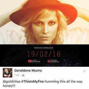 #ThisIsMyFire Geraldene