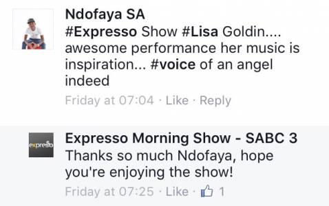 #ThisIsMyFire Ndofaya #ExpressoShow