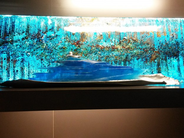 Customer Showcase – DKT Artworks and Eoin Turner Glass at The London Yacht, Jet & Prestige Car Show