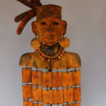 Modern Masters Iron Paint and Rust Patina on a tribal statue.