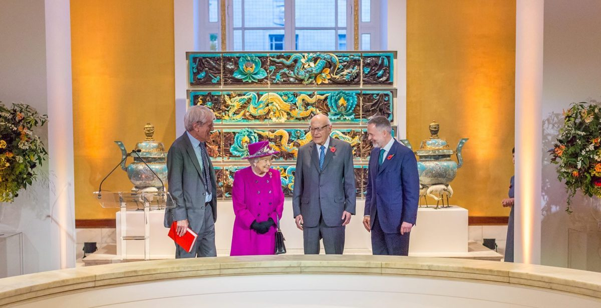 Renovation of the Chinese Room at the British Museum Completed by Kensington Gilders!
