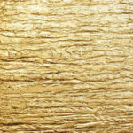 Polished Plaster - High Build Impasto Plaster Finish with Genuine Gold Leaf