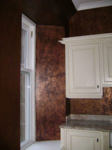 An Example Of Whitsons Impasto Primer Used To Give Texture On A Wall