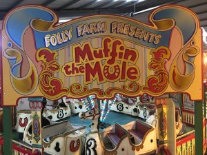 Traditional Fairground Attraction Painting and Design by Malcolm Murphy