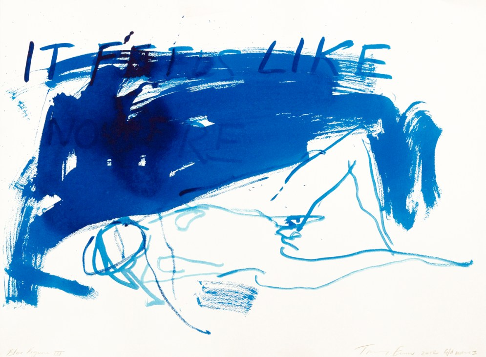 Blue Figure III