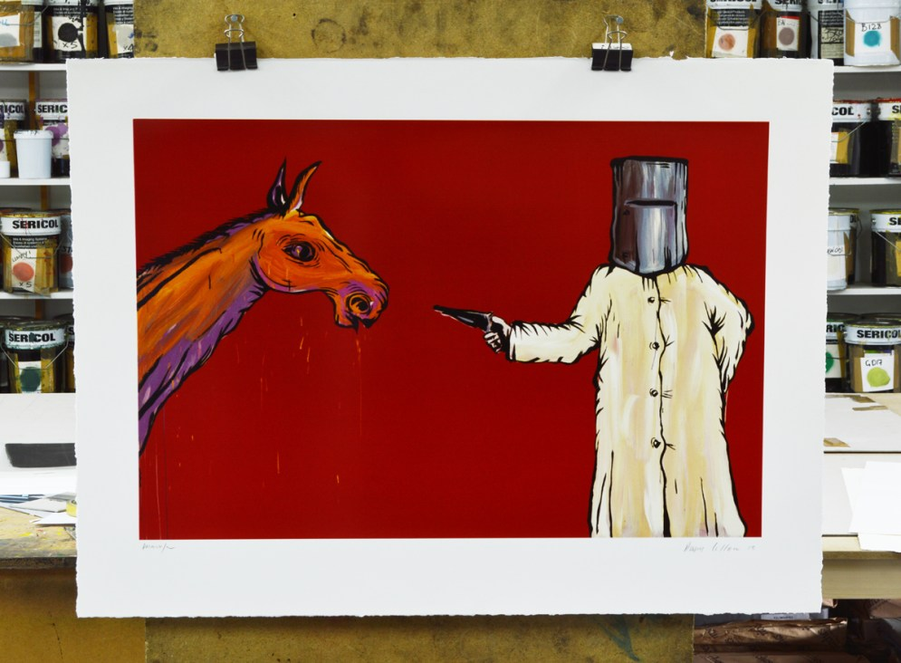 Ned Kelly and Sgt. Steel's Horse