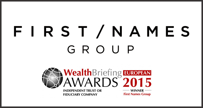 First Names Group Wins Prestigious WealthBriefing Award
