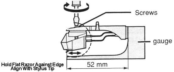 Technics Overhang Gauge For SL1200 & SL1210 Pikap İğne