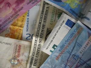 Zentralbanken Geld