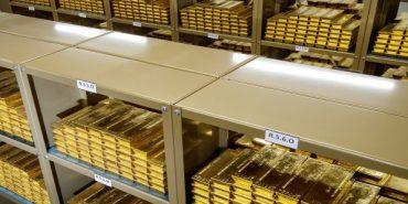 Gold, Goldreserven (Foto: Niesner, ÖNB)