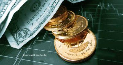 Gold, US-Dollar. Goldpreis (Foto: Goldreporter)