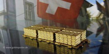 Gold, Goldbarren, Schweiz (Foto: Goldreporter)