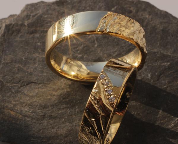 Trauring IM512  Goldschmied Eheringe