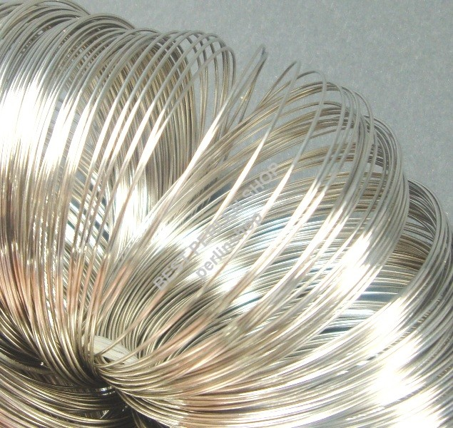 10 bracciali metallo gioielli parti 50 anelli memory wire filo 6cm azm290  eBay
