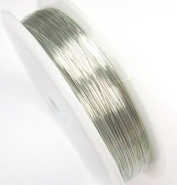 40m KUPFERDRAHT 03mm Silber Lackdraht Basteldraht