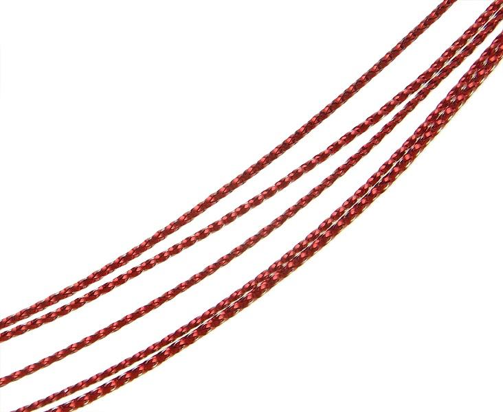 Gioielli filo Gioielli filo Gioielli filati Best 50 metri rosso lavorerai Cord Wire c57  eBay
