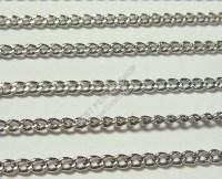 500cm BPS metallo catena anelli catena 2mm altsilber ...