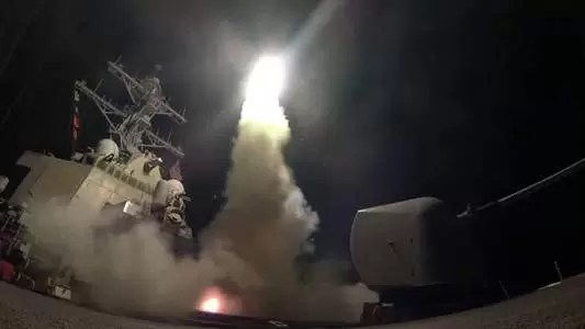 U.S. Strikes Syria After Gas Attack