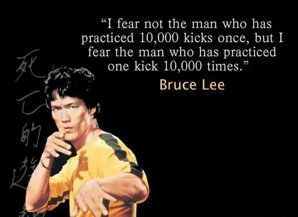 TRADING THOUGHT : I Fear Not The Man Who Has Practiced via @goldsilverrepor