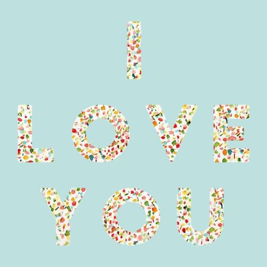 Gold Standard Workshop // Free Printable: I Love You